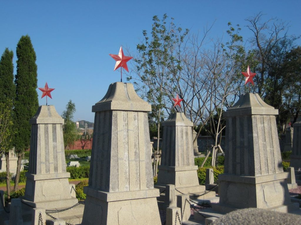 Lushun sowjetischer Friedhof