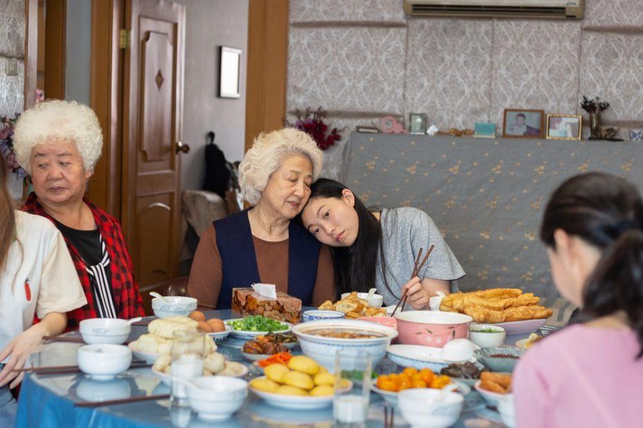 Szene aus dem Film Farewell (2019) von Lilu Wang: Billi und Nainai
