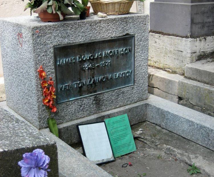 Grab von Jim Morrison in Paris 2009