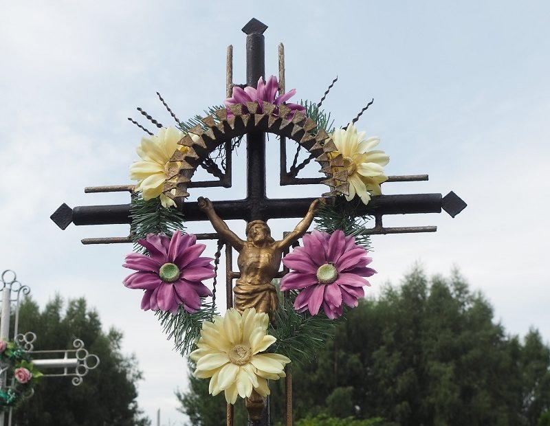 Polen Kreuz mit Jesus