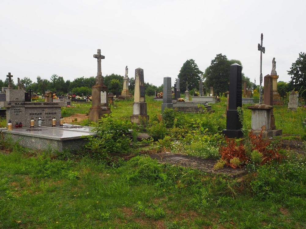 Polen alte Grabsteine
